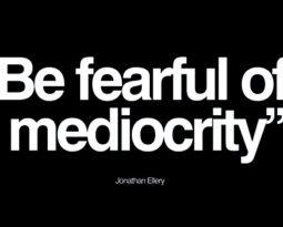 Coaching: medo da mudança & mediocridade