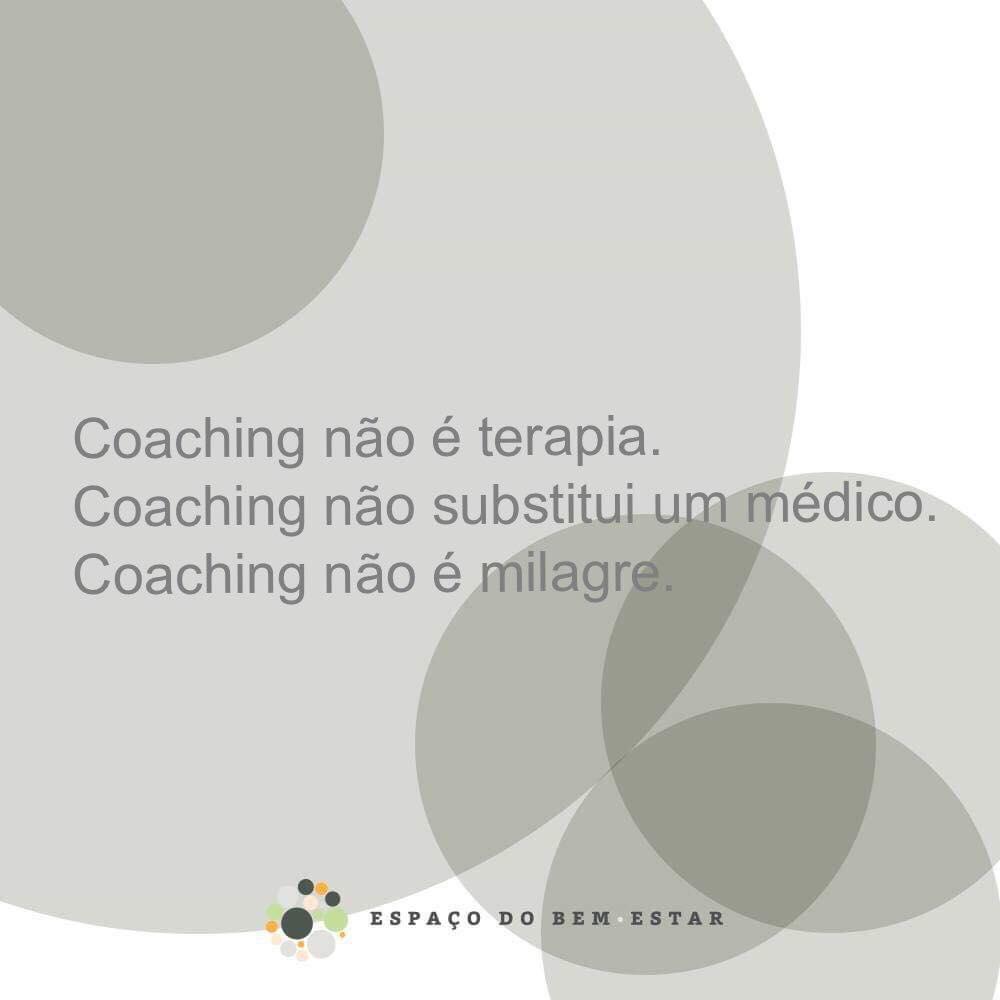 O que NÃO é coaching!